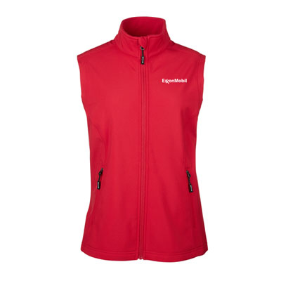 ExxonMobil soft shell vest