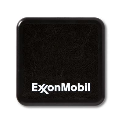 ExxonMobil™ Leatherette wireless charging pad