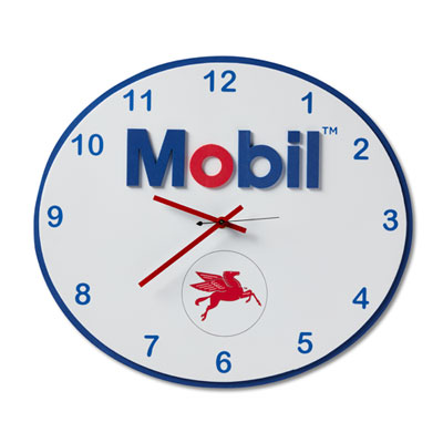 Mobil™ foam clock