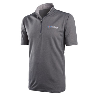 Mobil 1 Racing™ Arroyo wicking quarter-zip polo