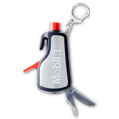 Mobil 1™ Auto emergency tool keychain