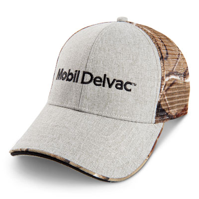 Mobil Delvac™ Realtree® APX camo-mesh fitted cap