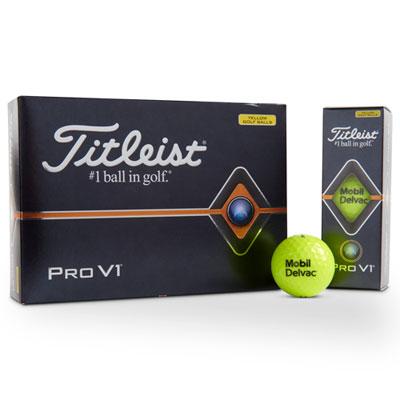 Mobil Delvac™ Titleist® Pro V1® golf balls (1 dozen)