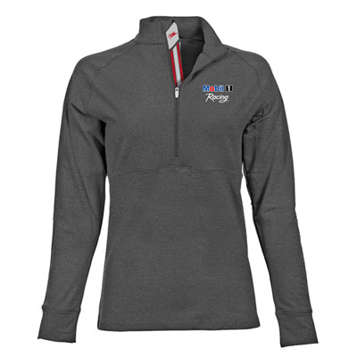 Ladies' Pegasus charcoal pullover