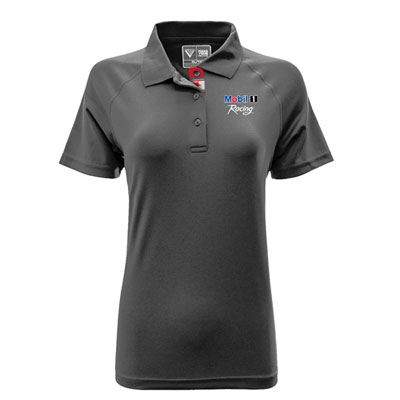 Ladies' Pegasus charcoal polo