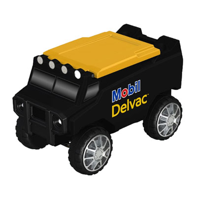 Remote-controlled rover cooler