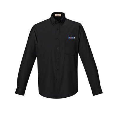 Men's Mobil 1™ UV black dress shirt
