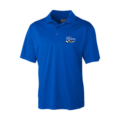 Men's Mobil 1 Lube Express™ blue Parma polo