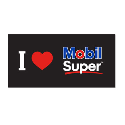 Mobil Super™ sticker