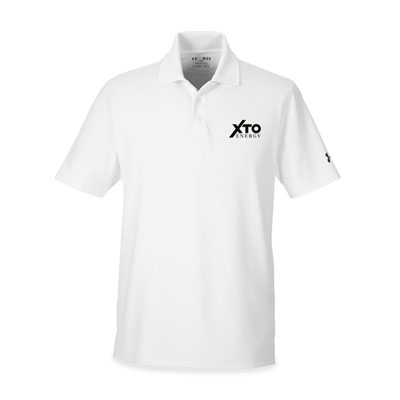 Men's XTO Energy™ Under Armour® white polo