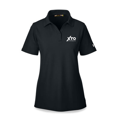Ladies' XTO Energy™ Under Armour® black polo