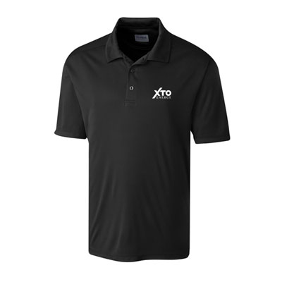 Men's XTO Energy™ black Parma polo