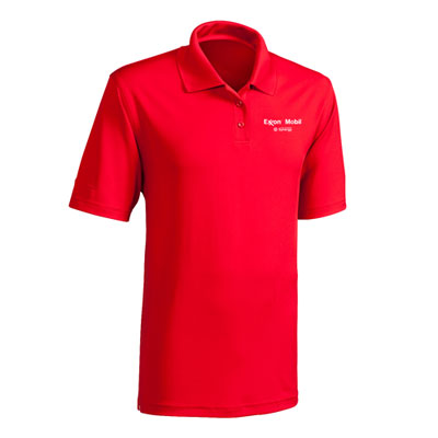 Men's Synergy™ Under Armour® red polo