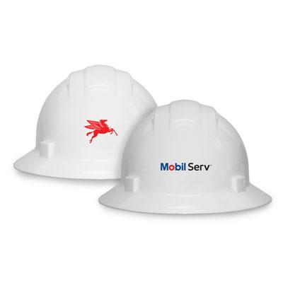 Mobil Serv™ Full brim hard hat
