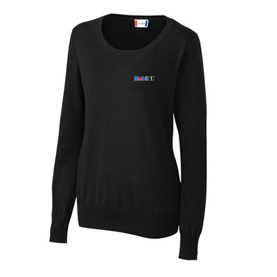 Mobil 1™ Ladies' scoop neck sweater