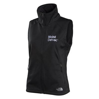 Mobil Delvac™ Ladies' The North Face® ridgeline softshell vest
