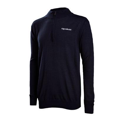 ExxonMobil™ Half-zip mock pullover