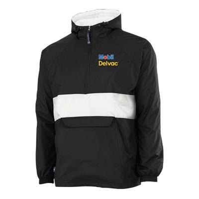 Mobil Delvac™ classic stiped pullover