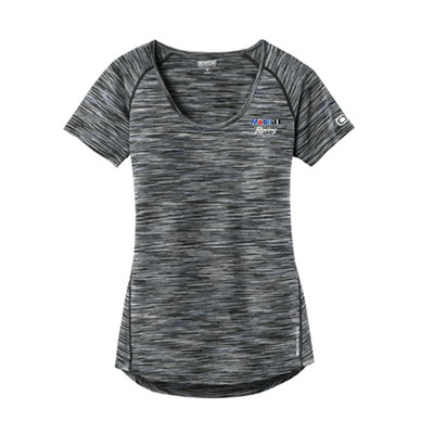 Mobil 1 Racing™ Ladies Ogio® endurance scoop neck t-shirt