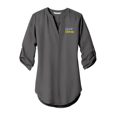 Mobil Delvac™ Ladies' Port Authority 3/4-Sleeve Tunic