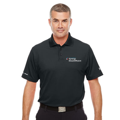 Men's Synergy Diesel Efficient™ Under Armour® black polo