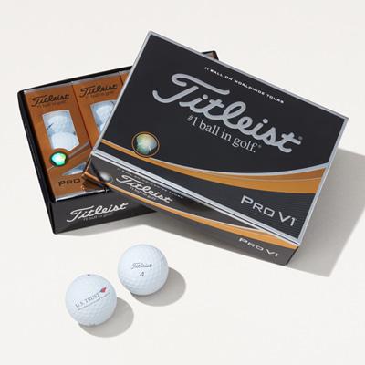 U.S. Trust Titleist® Pro V1® Golf Balls - 1 Dozen