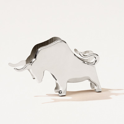 Bull Business Card Holder
