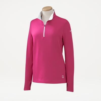 Bull Nike® Ladies' Half-Zip Cover-Up