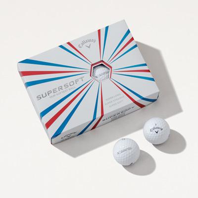 PBIG Callaway® Supersoft Golf Balls - 1 Dozen