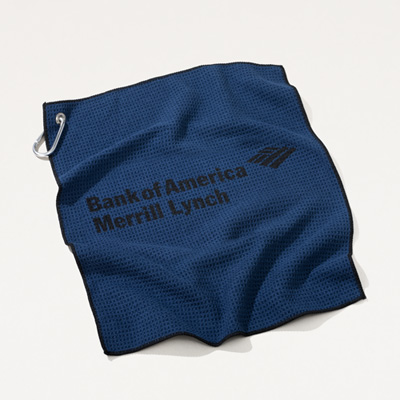 Bank of America Merrill Lynch Microfiber Golf Towel
