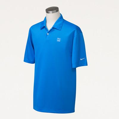 Bull Nike® Men's Pebble Texture Polo