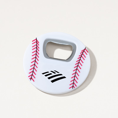 Flagscape Baseball Magnetic Bottle Opener