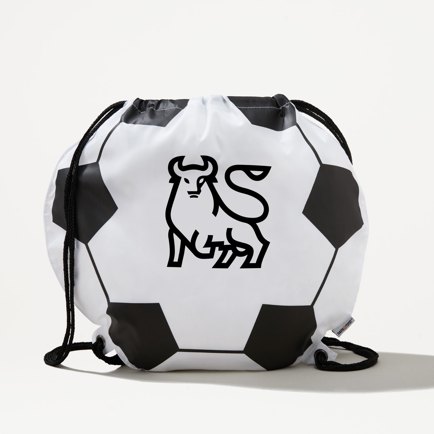 Enjoyable Bull Soccer Drawstring Bag Bank Of America Store Gmtry Best Dining Table And Chair Ideas Images Gmtryco