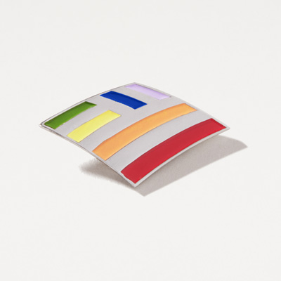 Flagscape Rainbow Pin