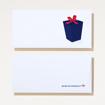 Bank of America Money Envelope - 250 Pack