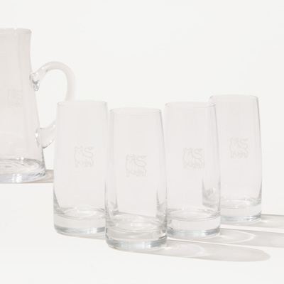 Bull Crystal Glass - Set of 4