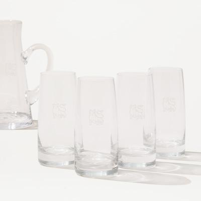 Bull Crystal Glass - Set of 4