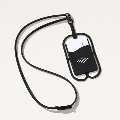 Flagscape Silicone Phone and Card Lanyard