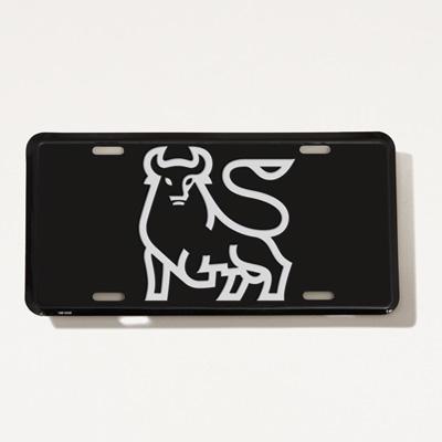 Bull Auto Vanity Plate