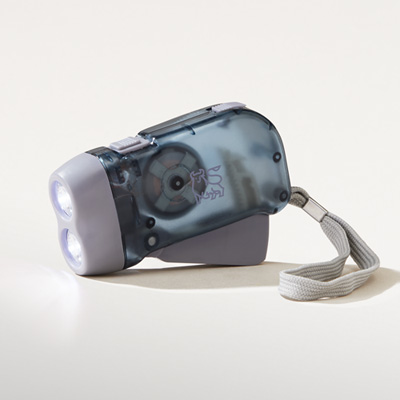 Bull Dynamo Powered Flashlight