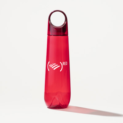 (RED) 24-Ounce Tritan Water Bottle