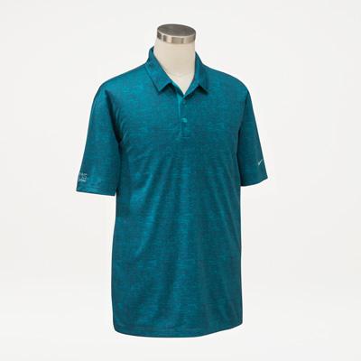 Bull Nike® Men's Crosshatch Polo