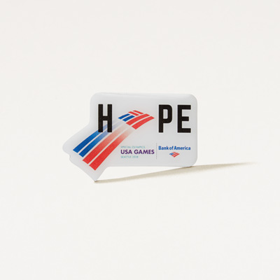 Hope Special Olympics Lapel Pin
