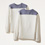 Bull Contrast Long Sleeve T-Shirt