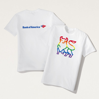 Bull Rainbow T-Shirt
