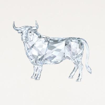 Swarovski® Crystal Bull Figurine