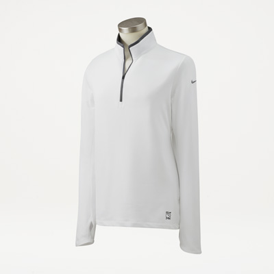Bull Nike® Ladies' Half-Zip Cover-Up