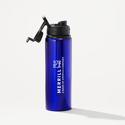 Merrill 28-Ounce Matt Aluminum Water Bottle