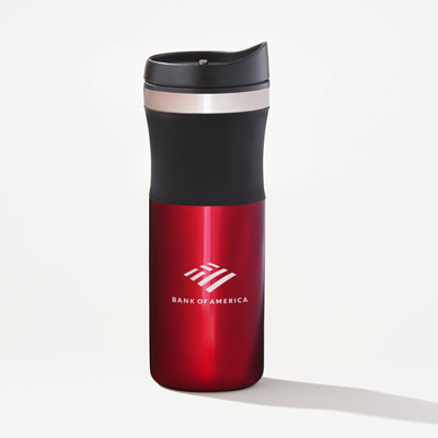 Bank of America 16-Ounce Brian Stainless Tumbler
