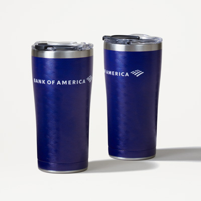 Bank of America Tervis® 20-Ounce Stainless Tumbler